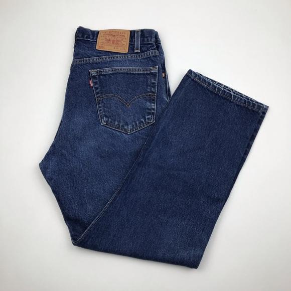 Levi's Denim - Vintage Levi's 505 High Waist Jeans 33 Re/Done
